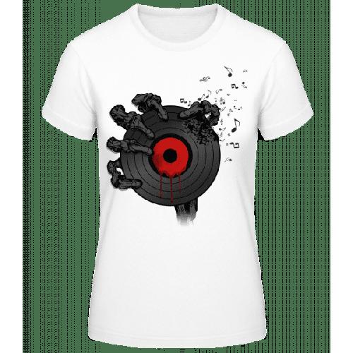 Schallplatte des Todes - Frauen Basic T-Shirt