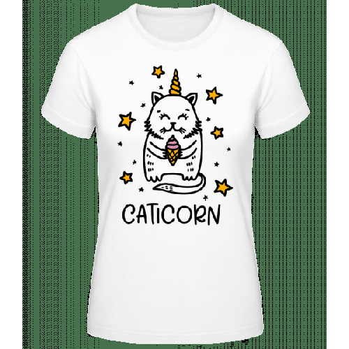 Caticorn - Frauen Basic T-Shirt