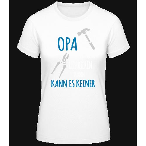 Wenn Opa Es Nicht Reparieren Kann - Basic T-Shirt