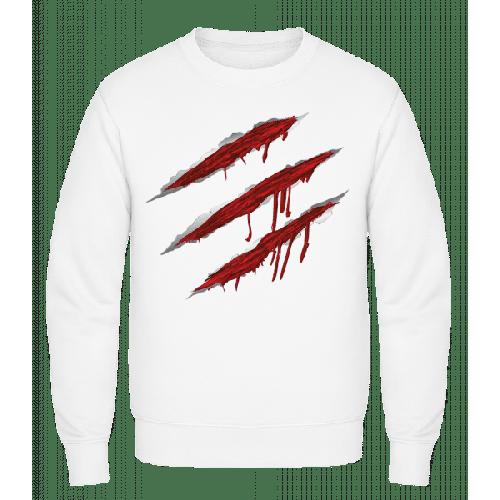 Blutige Kratzer - Männer Pullover