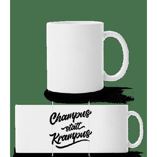 Champus Statt Krampus - Panoramatasse