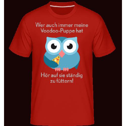 Hör Auf Die Vodoo-Puppe Zu Fütte - Shirtinator Männer T-Shirt