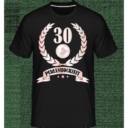 30 Jahre Perlenhochzeit - Shirtinator Männer T-Shirt