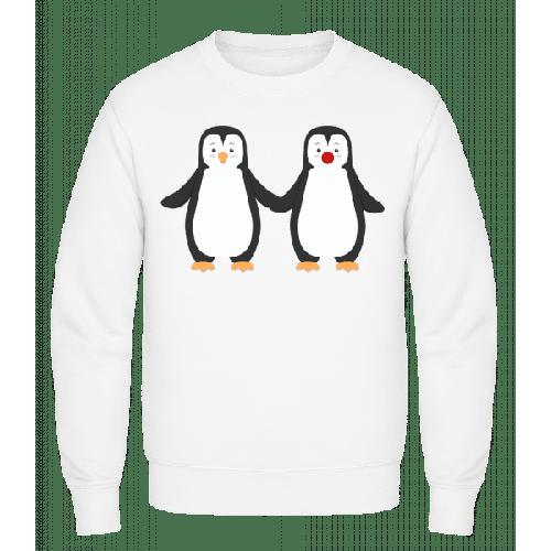 Pinguin Paar - Männer Pullover