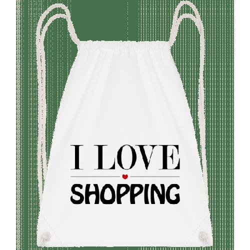 I Love Shopping - Turnbeutel
