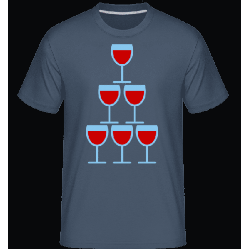Wine Glasses Icon - Shirtinator Männer T-Shirt