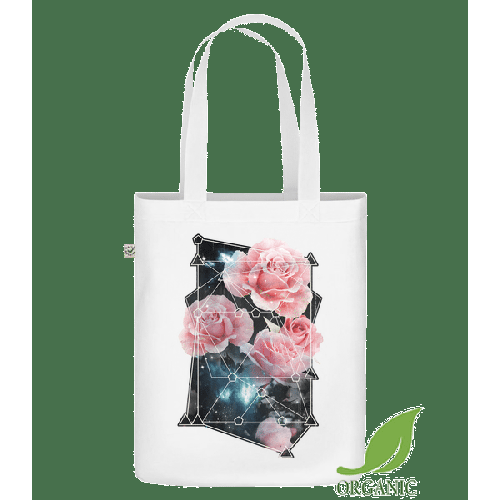 Geometrie Rosen - Bio Tasche