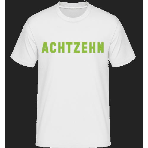 Achtzehn - Shirtinator Männer T-Shirt