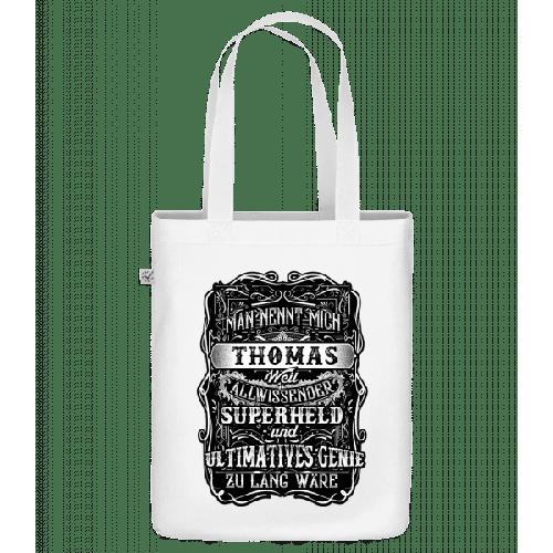 Man Nennt Mich Thomas - Bio Tasche