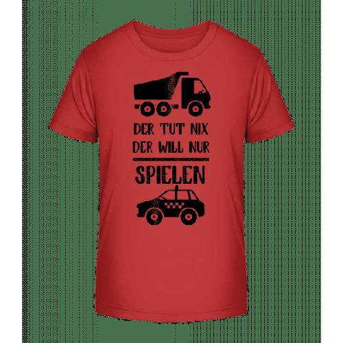 Der Tut Nix Nur Spielen - Kinder Premium Bio T-Shirt