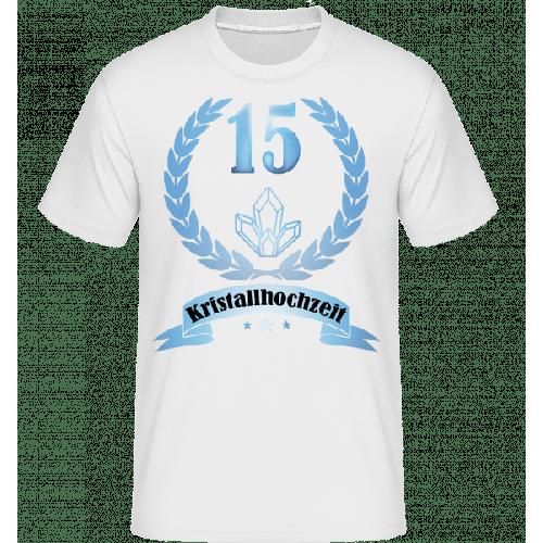 Kristallhochzeit - Shirtinator Männer T-Shirt