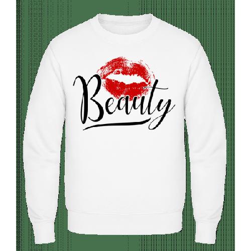 Beauty Kissing Mouth - Männer Pullover
