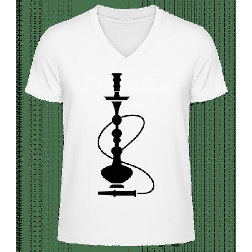 Shisha - Männer Bio T-Shirt V-Ausschnitt