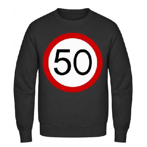 Verkehrsschild 50 - Männer Pullover