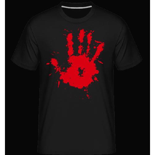 Blutiger Handabdruck - Shirtinator Männer T-Shirt