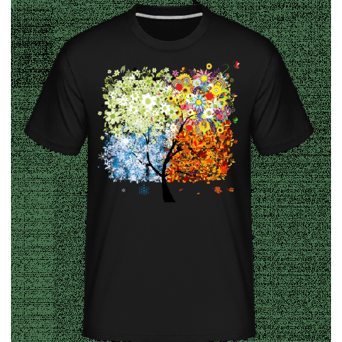 Vier Jahreszeiten Baum - Shirtinator Männer T-Shirt