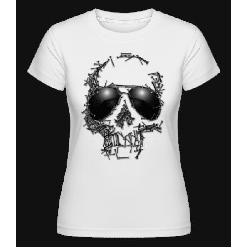 Sonnenbrille Totenkopf - Shirtinator Frauen T-Shirt