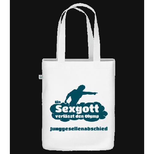 Junggesellenabschied Sexgott - Bio Tasche