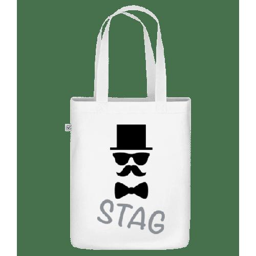 Stag - Schnurrbart - Bio Tasche