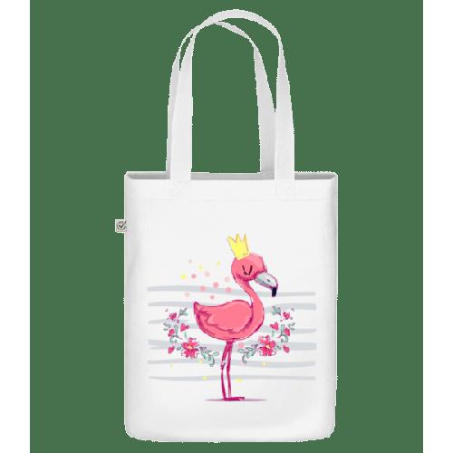 Königlicher Flamingo - Bio Tasche