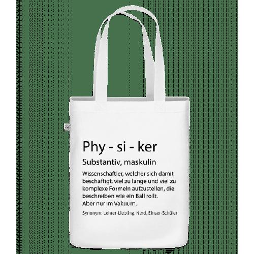 Physiker Quatsch Duden - Bio Tasche