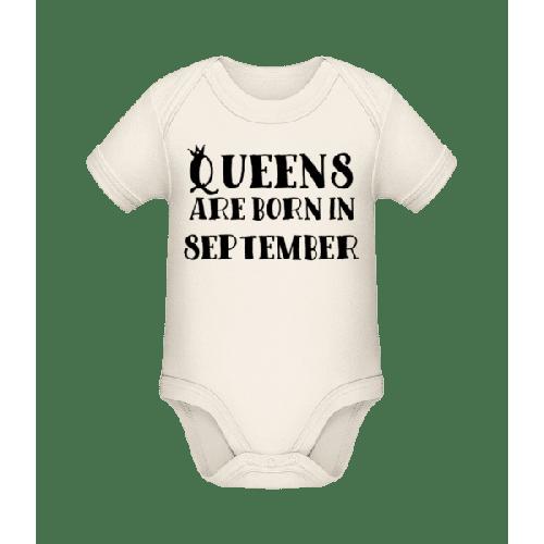 Queens Are Born In September - Baby Bio Strampler