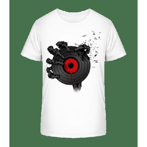 Schallplatte des Todes - Kinder Premium Bio T-Shirt