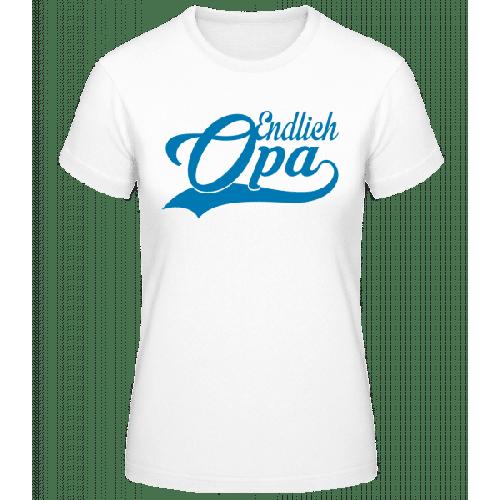 Endlich Opa - Basic T-Shirt