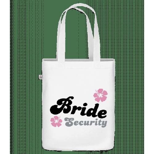 Bride Security Flowers - Bio Tasche