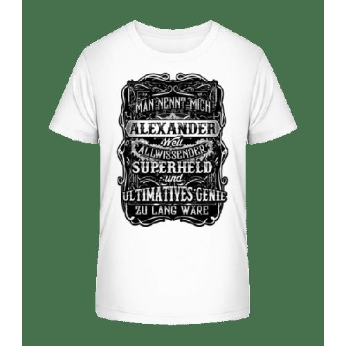 Man Nennt mich Alexander - Kinder Premium Bio T-Shirt