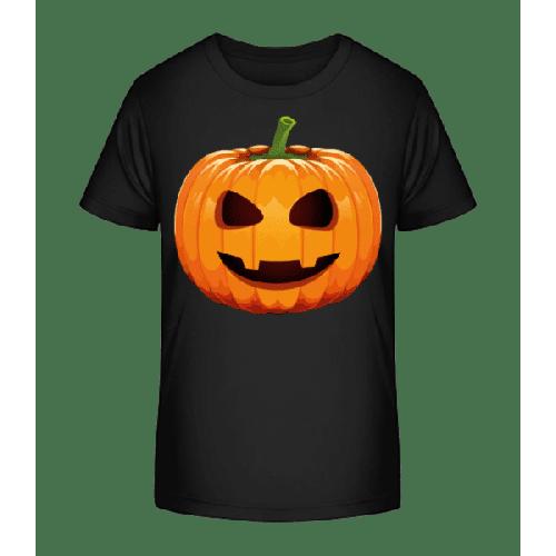 Lachender Kürbis - Kinder Premium Bio T-Shirt