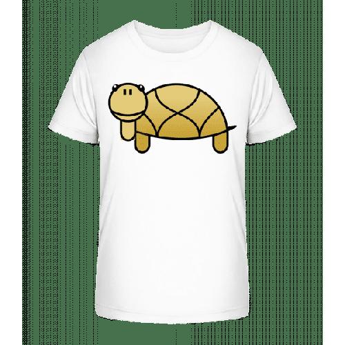 Schildkröte Comic - Kinder Premium Bio T-Shirt