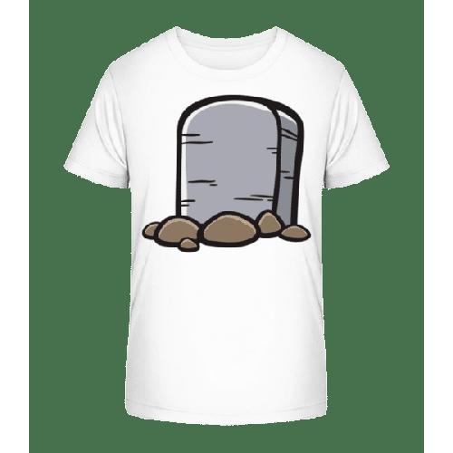 Comic Grabstein - Kinder Premium Bio T-Shirt