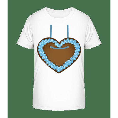 Lebkuchenherz Oktoberfest - Kinder Premium Bio T-Shirt
