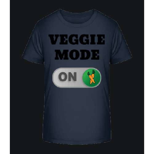 Veggie Mode On - Karotten - Kinder Premium Bio T-Shirt