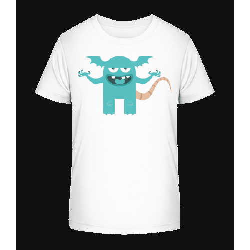 Lustiges Monster - Kinder Premium Bio T-Shirt