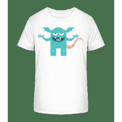 Lustiges Monster - Kinder Premium Bio T-Shirt
