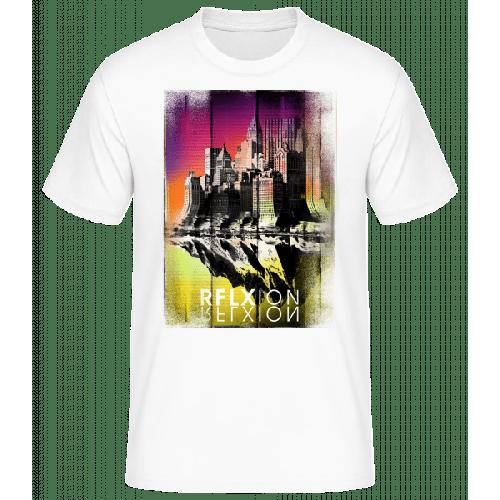 Reflexion - Männer Basic T-Shirt