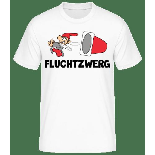 Fluchtzwerg - Männer Basic T-Shirt