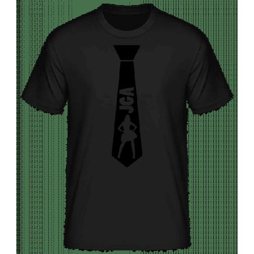 Junggesellenabschied Stripperin - Männer Basic T-Shirt