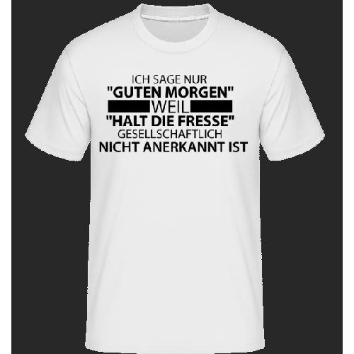 Gesellschaftlich Nicht Anerkannt - Shirtinator Männer T-Shirt