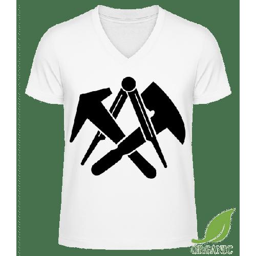 DIY Symbols - Männer Bio V-Neck T-Shirt