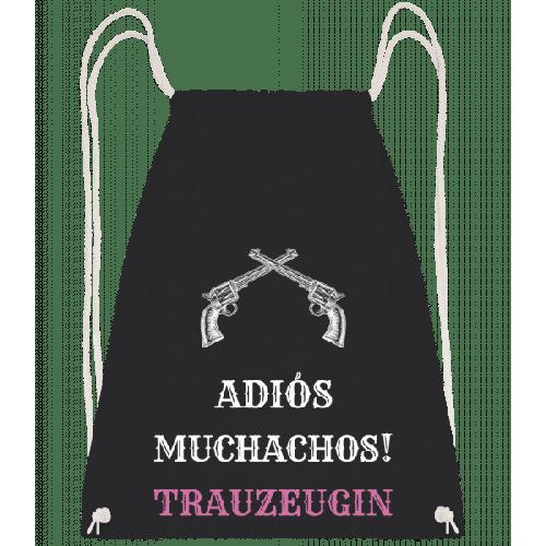 Adiós Muchachos Trauzeugin - Turnbeutel