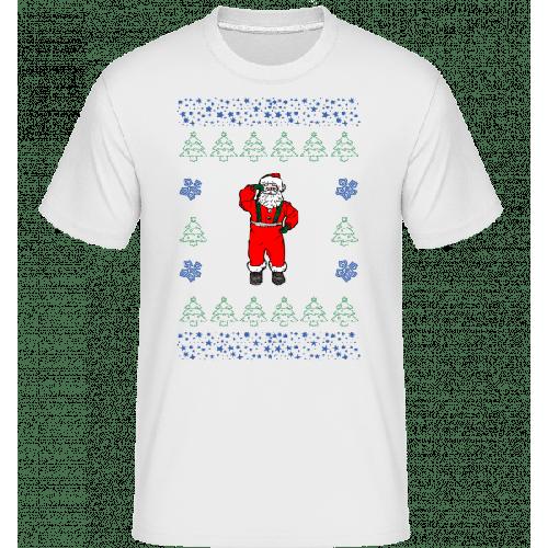 Weihnachtsmann Strickmuster - Shirtinator Männer T-Shirt