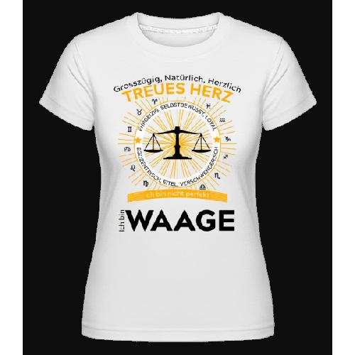 Sternzeichen Waage - Shirtinator Frauen T-Shirt