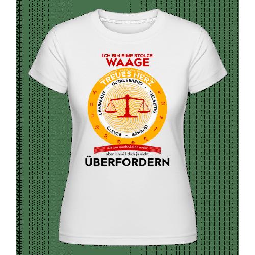 Waage Treues Herz - Shirtinator Frauen T-Shirt