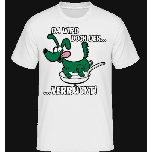 Hund In Der Pfanne - Shirtinator Männer T-Shirt