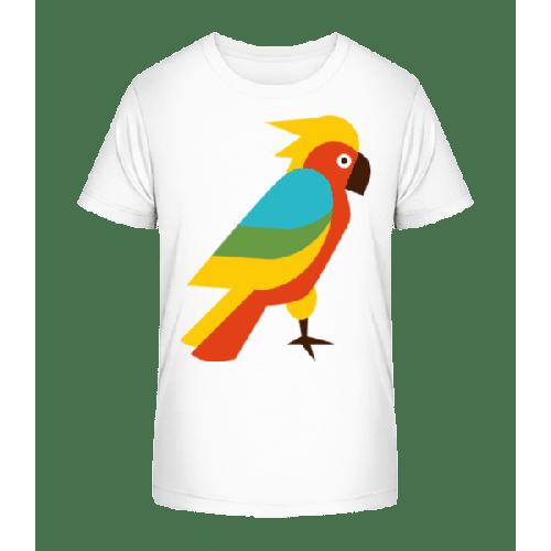 Papagei Comic - Kinder Premium Bio T-Shirt