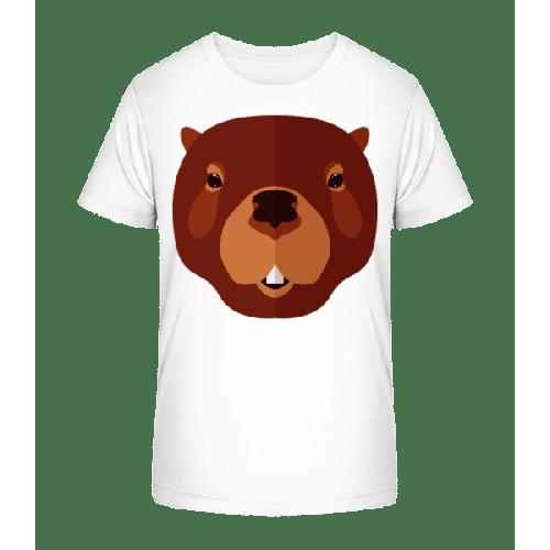 Biber Comic - Kinder Premium Bio T-Shirt