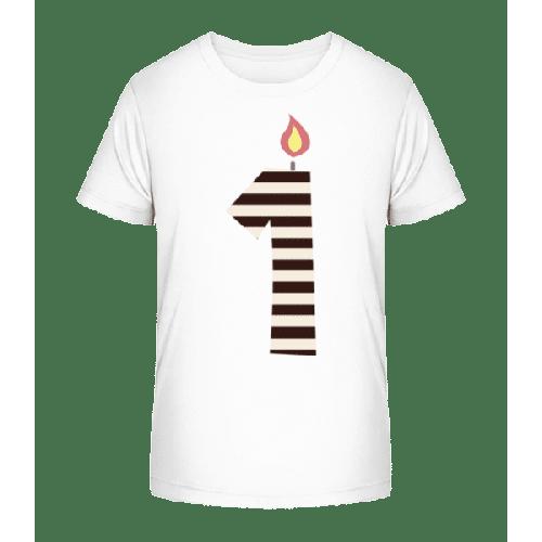 Geburtstagskerze - Kinder Premium Bio T-Shirt